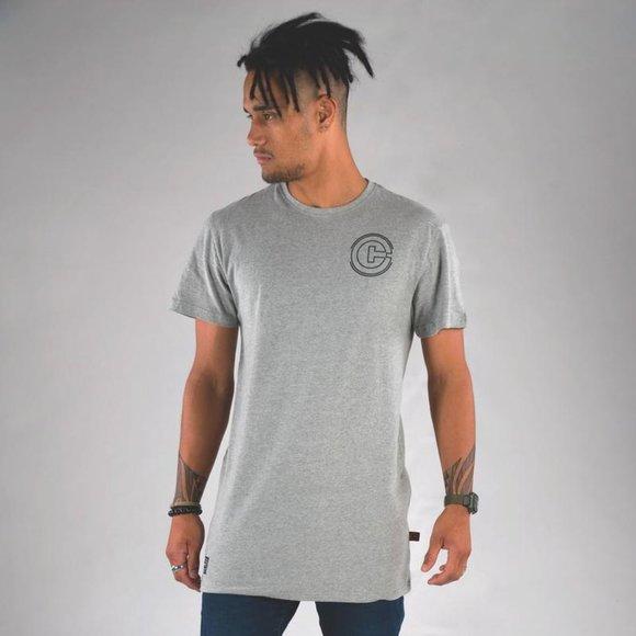 Classic Cuzy T Men's Grey Short Sleeve T-Shirt